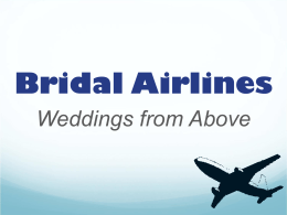 bridal airlines presentation