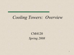 CM4120CoolTowerLecture