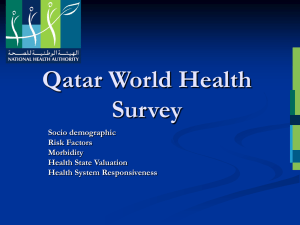 WHS qatar findings