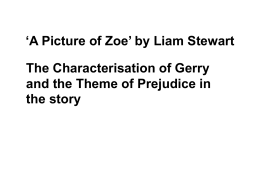 `A Picture of Zoe` by Liam Stewart