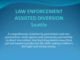 law enforcement assisted diversion lead