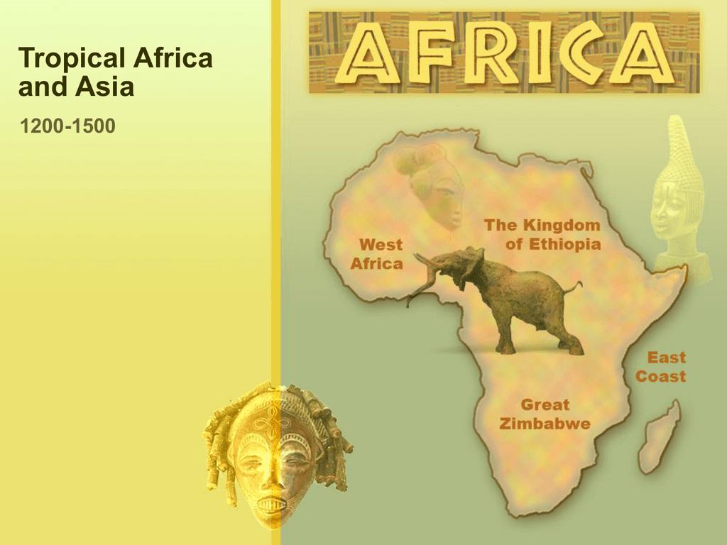 Tropical Africa and Asia   Arlington Public Schools