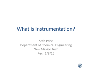 What is Instrumentation