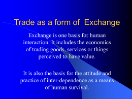 Evolution of Trading Theories