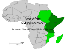 East Africa Powerpoint