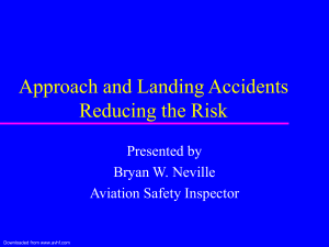 Approach and Landing Accidents Reducing the Risk