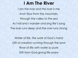 I Am the River - Butterfly Music