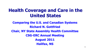 Health Coverage and Care in the United States