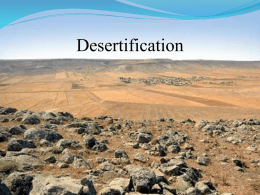 Desertification - Earth Geography