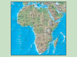 SS7G1a The student will locate selected features of Africa. .