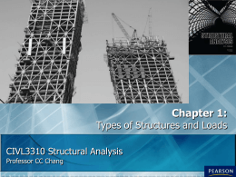 Structural Analysis Chapter 01
