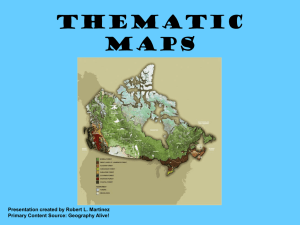 Geography Thematic Maps