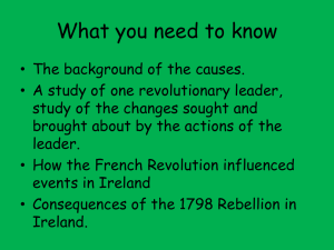 1798 Rebellion - Ms. Doyle`s blog