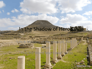 In the Shadow of Herod