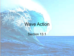 Ocean Motions Wave Action