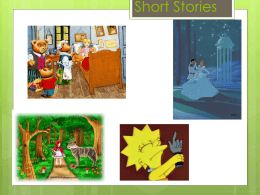Short Story Terms PowerPoint