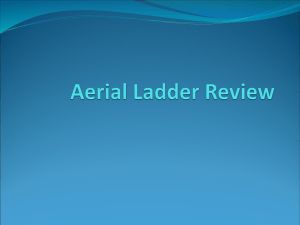 Aerial Ladder Review