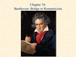 Beethoven`s Final Years (1814-1827)