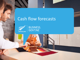 Cash flow forecasts PowerPoint Presentation