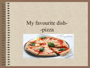 My favourite dish-