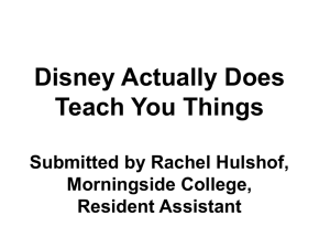 Disney Actually Does Teach You Things Submitted by