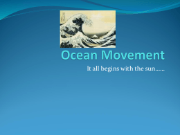 Ocean Current and Climate Change