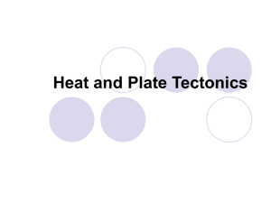 Heat and Plate Tectonics - Western Reserve Public Media