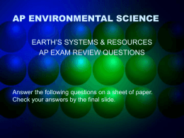 ap essays environmental science Free ap notes and college essays we have the best ap notes ap environmental science ap french language and culture what is study notes.