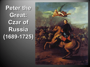 Peter the Great - euro