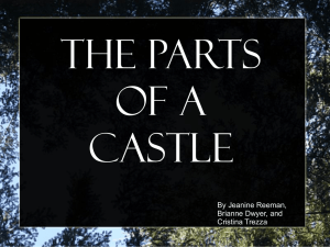 Powerpoint: Castles - Thompson Middle School