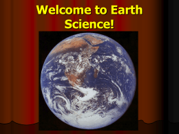 Chapter 1: Introduction to Earth Science