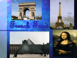 French Cuisine Powerpoint