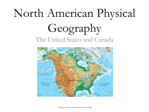 North American Physical Geography