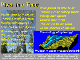 PPT - The Science of Watershed Hydrology