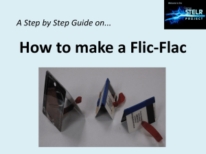 How to make a Flick
