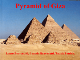 Pyramid of Giza - Programa de Línguas Estrangeiras