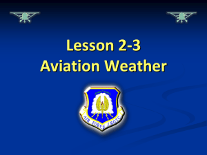 Lesson 2-3 Slides Aviation Weather