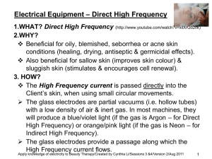 Direct High Frequency Machine