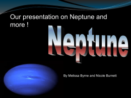 Neptune by Nicole Bu and Melissa