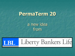 PermaTerm 20 a new idea from