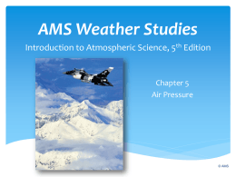 AMS Weather Studies