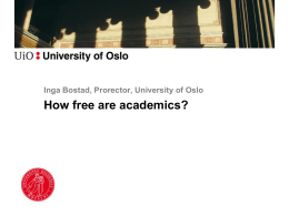 What is Academic freedom?