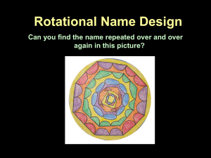 Rotational Name Design