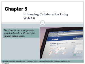 Enhancing Collaboration Using Web 2.0