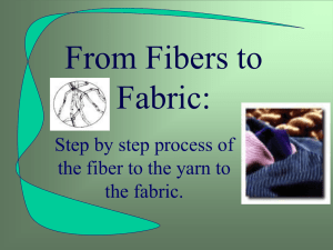 From Fibers to Fabric: