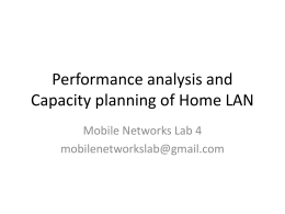 Mobile Networks Lab4