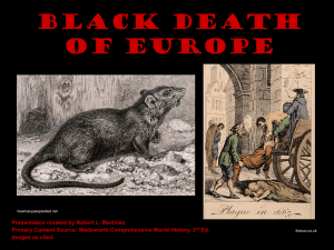 Black Death of Europe
