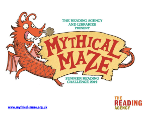 Mythical Maze Assembly presentation