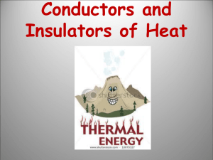 Conductors and Insulators of Heat