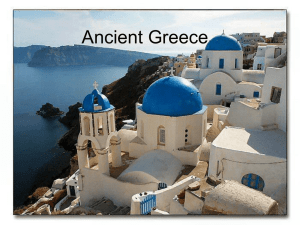 Geography of Greece PowerPoint